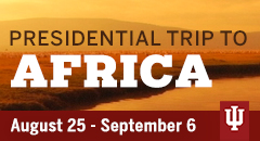 Presidential trip to Africa logo