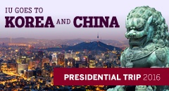 IU goes to Korea and China: Presidential Trip 2016