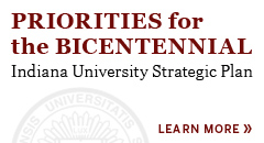 The draft of the Indiana University strategic plan