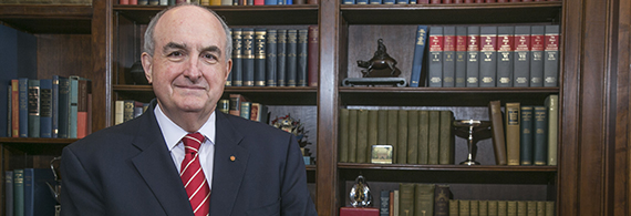 Portrait of Michael A. McRobbie